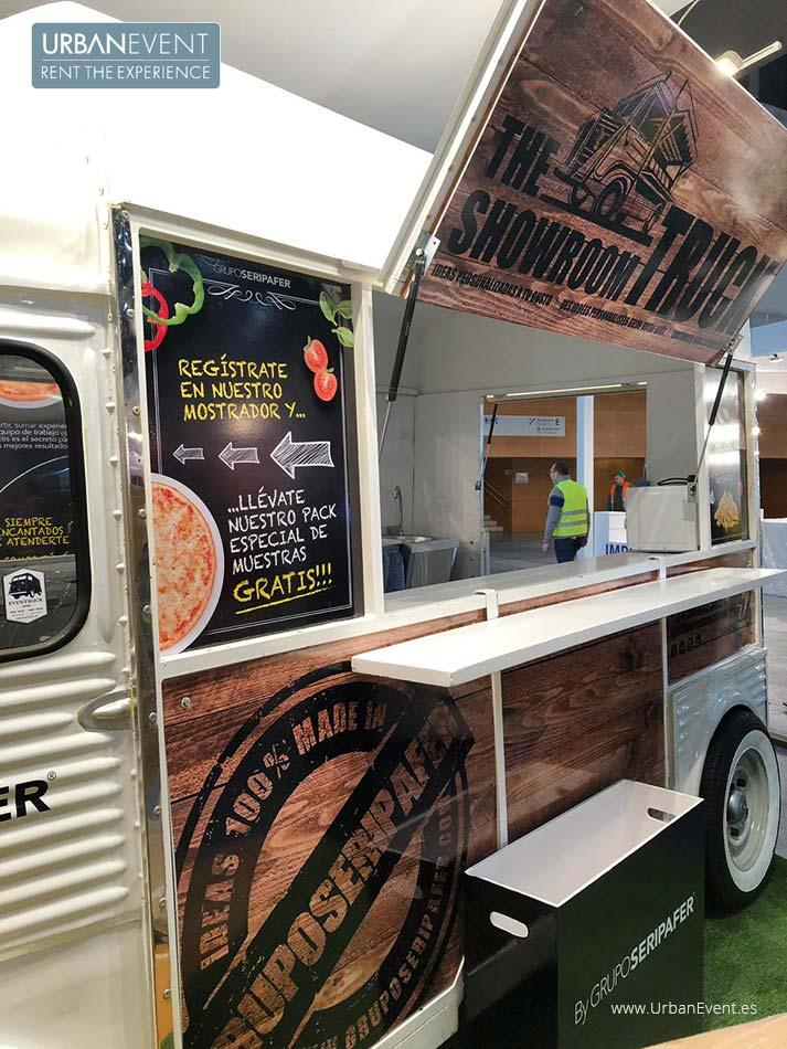 FoodTruck SERIPAFER en la Feria Promogift